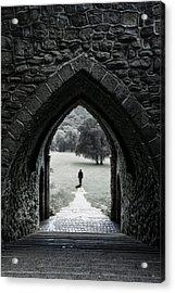 Through The Arch Acrylic Print by Svetlana Sewell