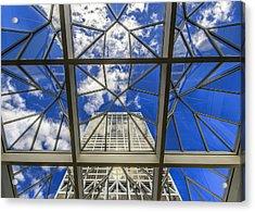 Through The Atrium Acrylic Print by Anna-Lee Cappaert