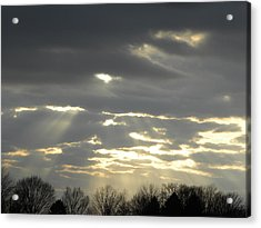 Through The Clouds Acrylic Print