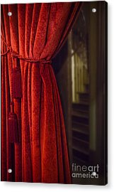 Through The Curtain Acrylic Print by Margie Hurwich