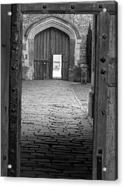 Acrylic Print featuring the photograph Through The Door by Meaghan Troup