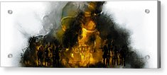 Through The Fire  Acrylic Print