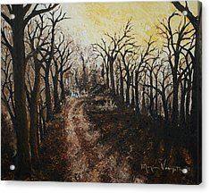 Through The Forest Acrylic Print by Monica Veraguth