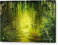 Through The Jungle Acrylic Print by Svetlana Sewell