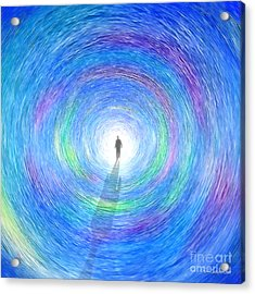 Through The Light Acrylic Print