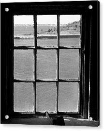 Acrylic Print featuring the photograph Through The Lighthouse Window by John Hoey