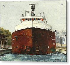 Through The Locks - Herbert C. Jackson Acrylic Print