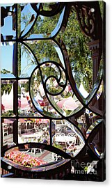 Through The Looking Glass Acrylic Print by Linda Shafer