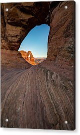 Through The Needle Acrylic Print by Dustin  LeFevre