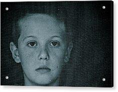 Through The Screen Door Acrylic Print