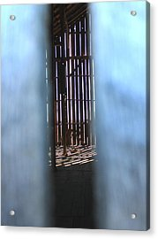 Through The Slats Acrylic Print
