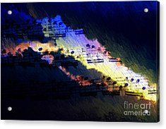 Acrylic Print featuring the digital art Through The Storm by Lon Chaffin