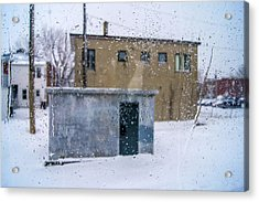 Through The Train Window Acrylic Print by Arkady Kunysz