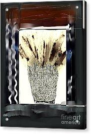 Through The Window Acrylic Print by Rc Rcd