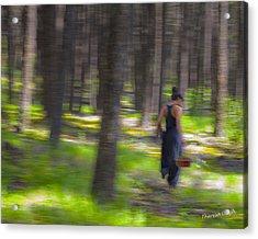 Through The Woods 2 Acrylic Print by Theresa Tahara