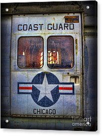 Through These Doors Dive Heroes  Acrylic Print