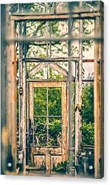 Thru Times Window Acrylic Print