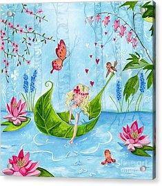 Thumbelina 1 Acrylic Print by Caroline Bonne-Muller