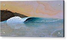 Thunder At The Break Of Dawn Acrylic Print by Nathan Ledyard