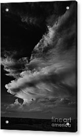 Acrylic Print featuring the photograph Thunder Cloud by Karen Slagle