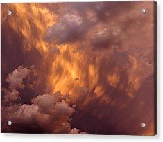 Thunder Clouds Acrylic Print