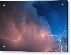 Thunder God Approaches Acrylic Print