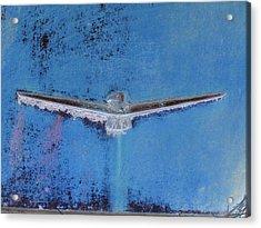Thunderbird Logo Acrylic Print by Dietrich ralph  Katz