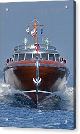 Thunderbird Yacht Acrylic Print