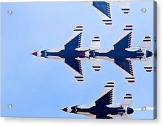 Thunderbirds Acrylic Print