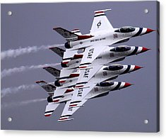 Thunderbirds At Salinas Air Show Acrylic Print