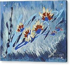 Thunderflowers Acrylic Print