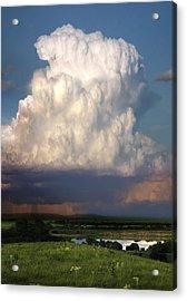 Thunderhead - Greenwood County Acrylic Print