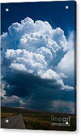 Thunderhead Acrylic Print by Stefano Carini