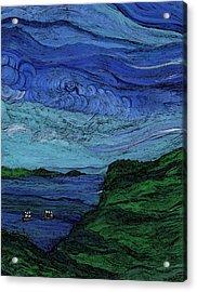 Thunderheads Acrylic Print by First Star Art