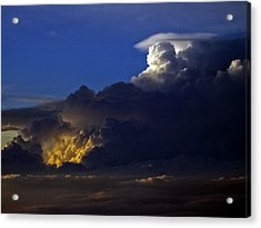 Acrylic Print featuring the photograph Thunderstorm II by Greg Reed