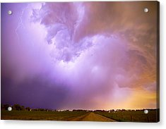 Thunderstorm Tidal Wave Acrylic Print by James BO  Insogna