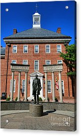 Thurgood Marshall Memorial Acrylic Print by Olivier Le Queinec