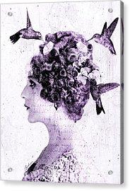 Thy Love Like Nectar Acrylic Print