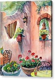 Tia Rosa's Acrylic Print