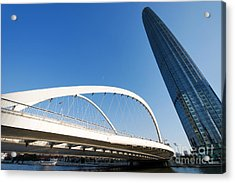Acrylic Print featuring the photograph Tianjin City by Yew Kwang