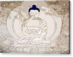 Tibet Buddha Acrylic Print