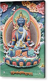 Tibetan Buddhist Temple Deity Acrylic Print by Tim Gainey