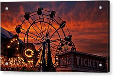 Tickets To Ride Acrylic Print