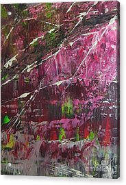 Acrylic Print featuring the painting Tickled Pink by Lucy Matta