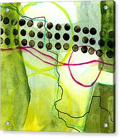 Tidal 14 Acrylic Print by Jane Davies
