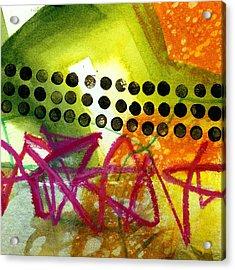 Tidal 15 Acrylic Print by Jane Davies