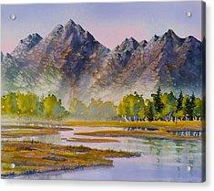 Tidal Flats Acrylic Print