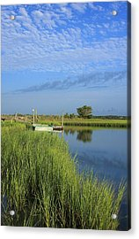 Tidal Marsh Wrightsville Beach Acrylic Print by Mountains to the Sea Photo