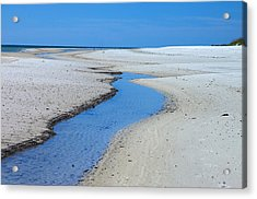 Tidal Pools Acrylic Print