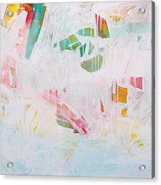 Tidal Wash  C2012 Acrylic Print by Paul Ashby